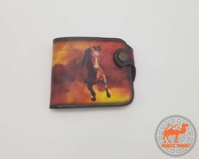 Кошелек рисунок лошадь картинка