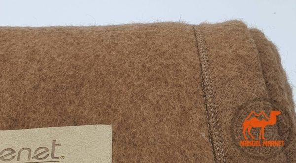 Тканое верблюжье одеяло из Монголии 200/220 картинка