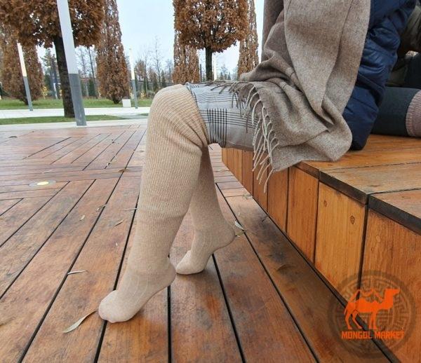 Гольфы 100% шермть Монголия фото